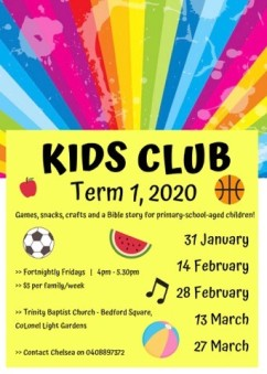 kids club 2020 T1