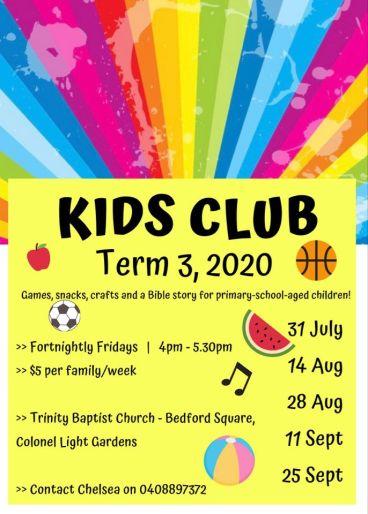 kids club 2020 T3