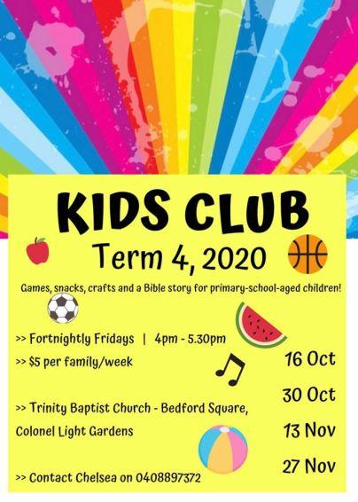 Kids Club T4, 2020