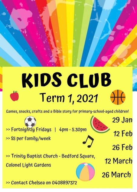 Kids club T1, 2021