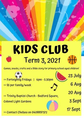 Kids club T3, 2021